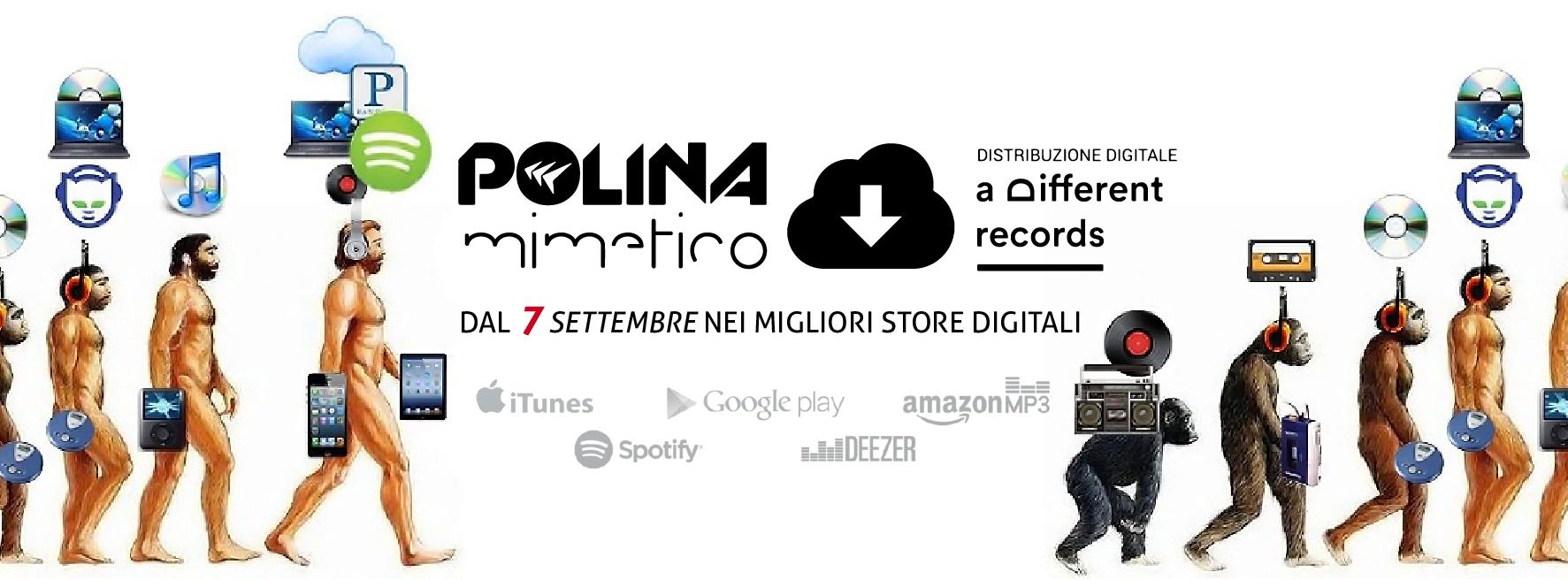 """Polina """"Mimetico"""" negli store digitali dal 7 Settembre 2016"""