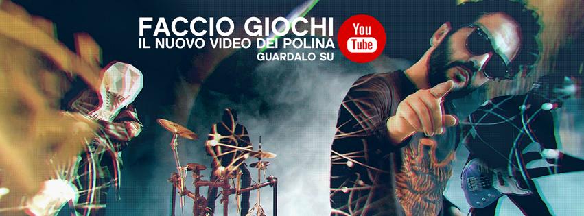 """""""Faccio Giochi"""" il nuovo video dei Polina ora anche su YouTube dopo l'esclusiva su fanpage.it"""