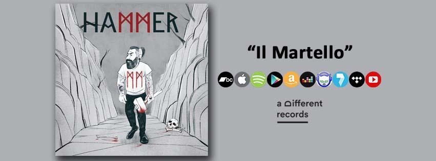 Hammer - Il Martello // In tutti gli stores digitali