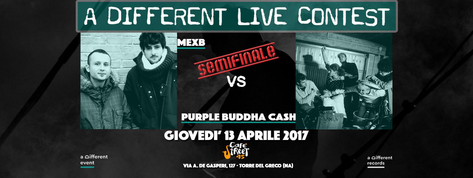 13-04 MexB vs Purple Buddha Cash - A Different Live Contest