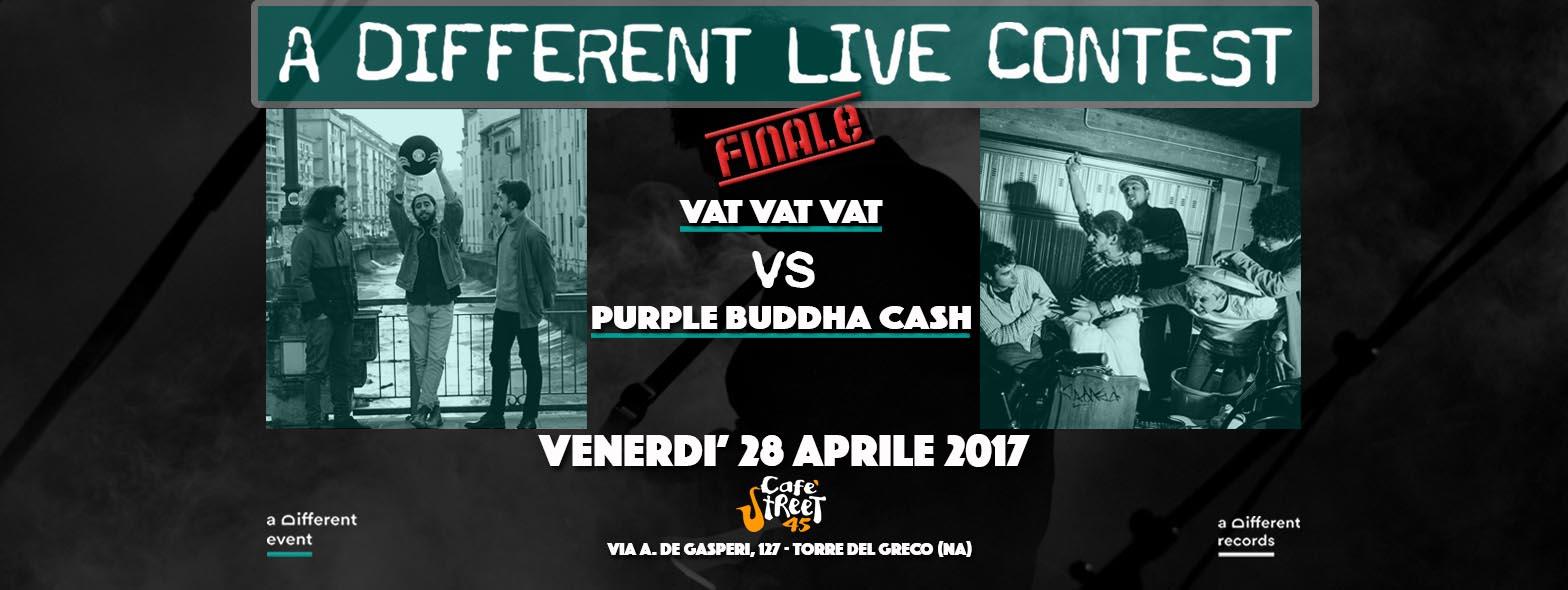 FINALE A Different Live Contest