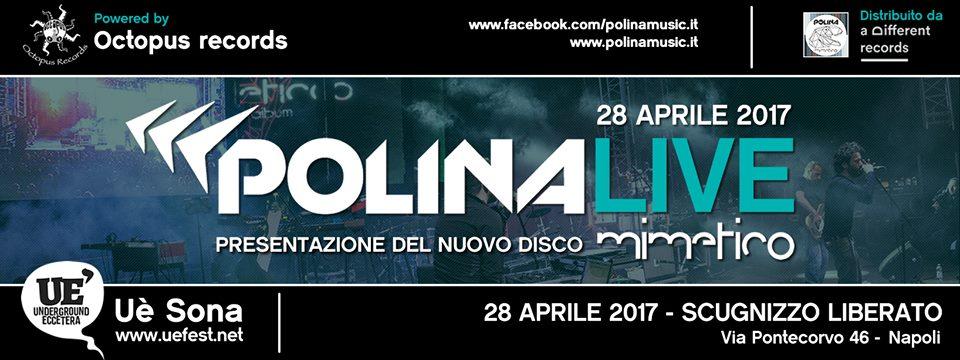 28 Aprile 2017 - Presentazione %22Mimetico%22 il nuovo album dei Polina