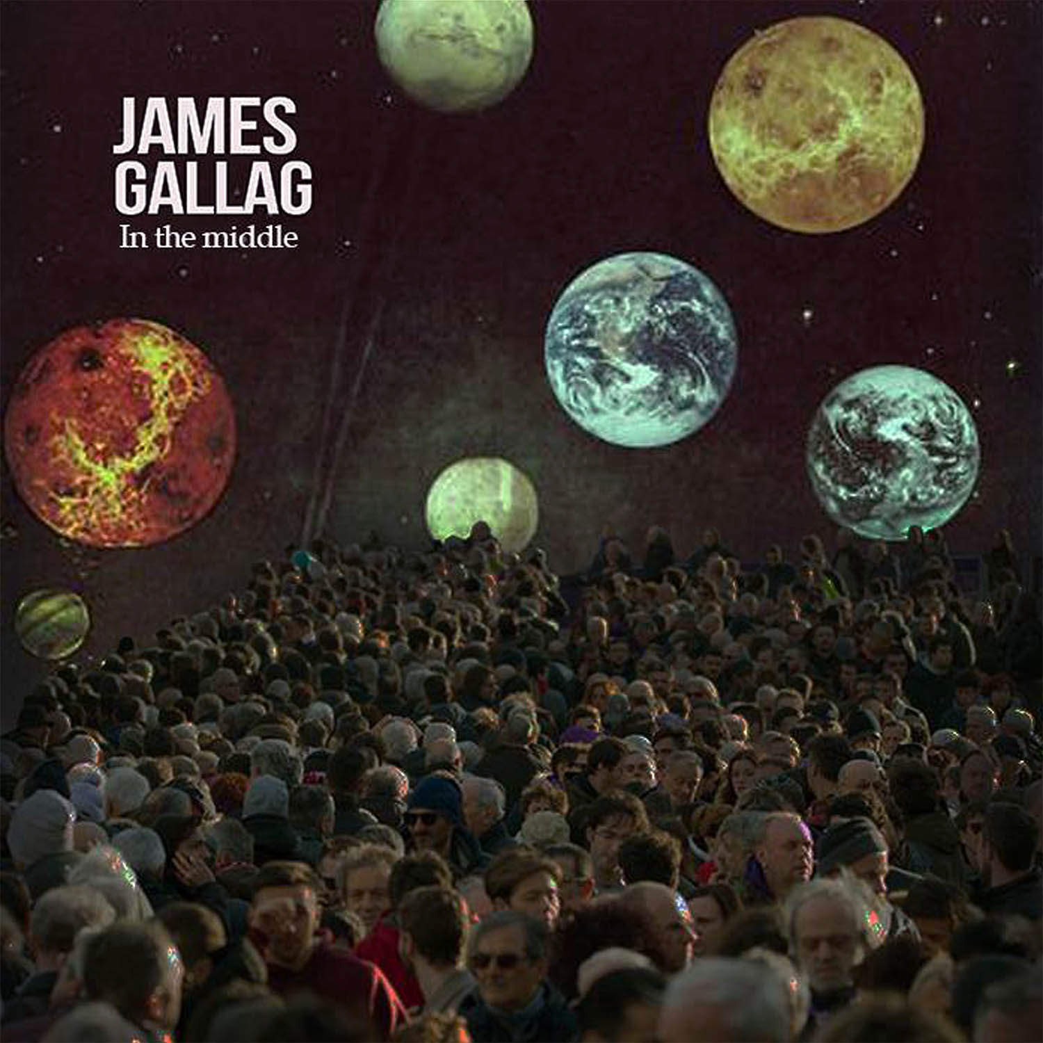 James Gallag - In the middle